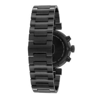 Issey Miyake W Black Chronograph Watch, Steel-30675