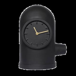 Leff Amsterdam Base Table Clock, Black-0