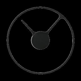 Stelton Time Large Wall Clock, Black -0