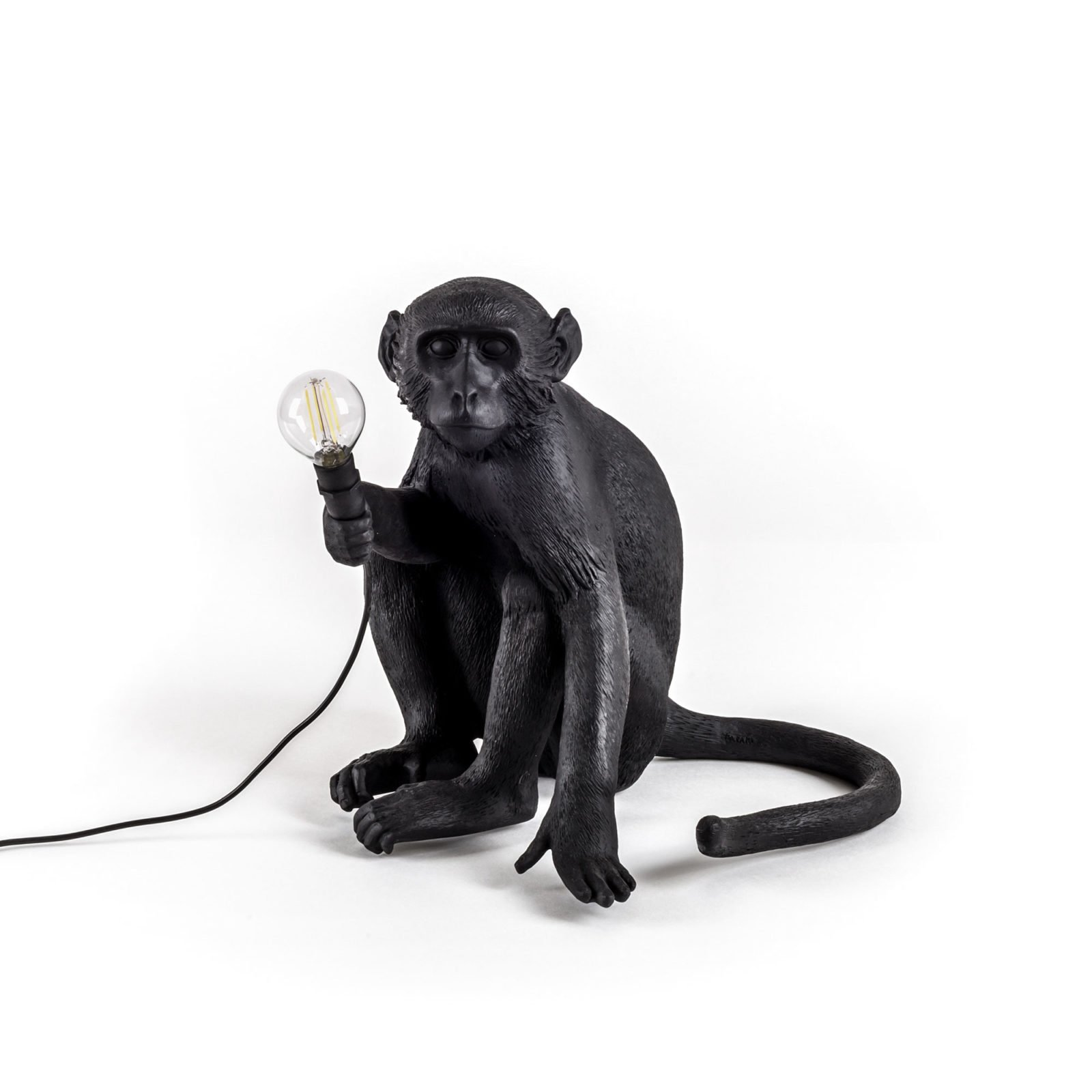 Seletti Outdoor Monkey Lamp, Sitting -31194