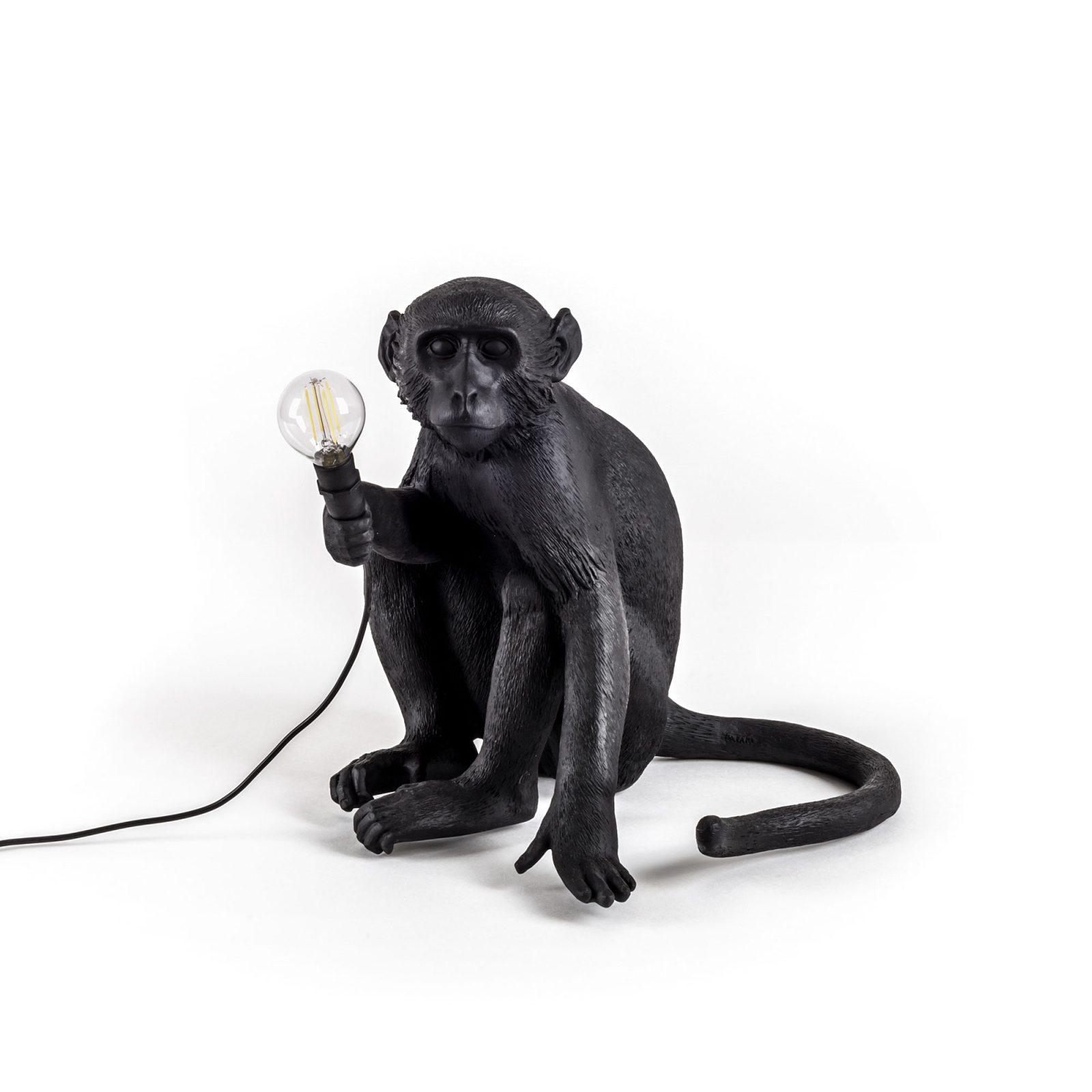 Seletti Outdoor Monkey Lamp, Sitting -31194