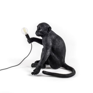 Seletti Outdoor Monkey Lamp, Sitting -31195
