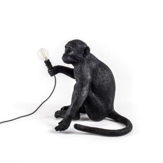 Seletti Outdoor Monkey Lamp, Sitting -31195