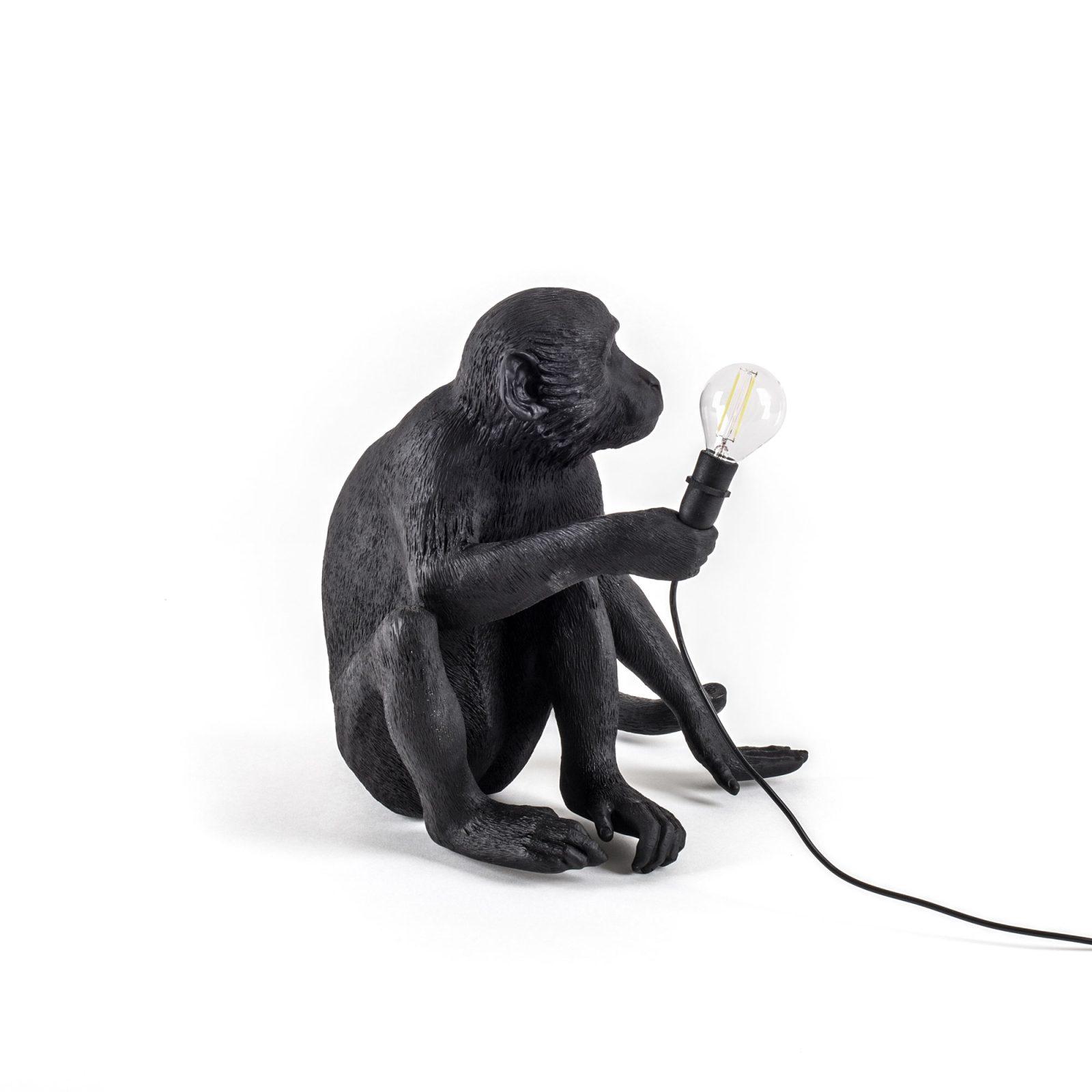 Seletti Outdoor Monkey Lamp, Sitting -31196