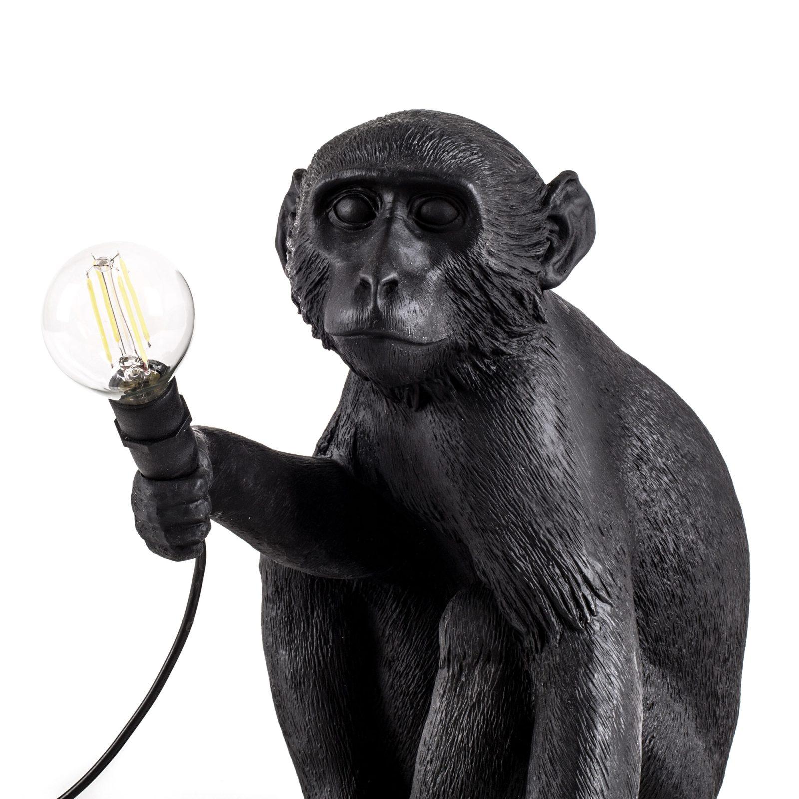 Seletti Outdoor Monkey Lamp, Sitting -31198
