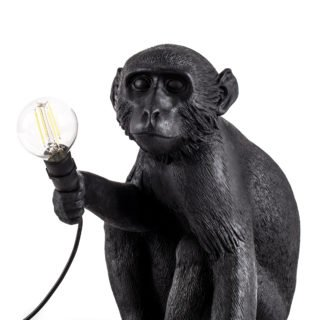 Seletti Outdoor Monkey Lamp, Sitting -31198