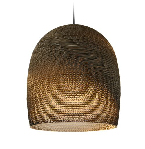 Bell 16 Scraplight Natural Pendant Light-0