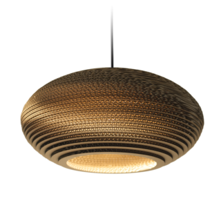 Disc 16 Scraplight Natural Pendant Light-0