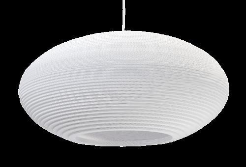 Disc 24 Scraplight White Pendant Light-0