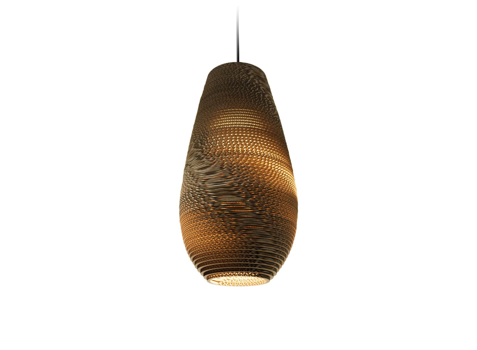 Drop 18 Scraplight Natural Pendant Light-31372