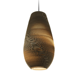 Drop 18 Scraplight Natural Pendant Light-0