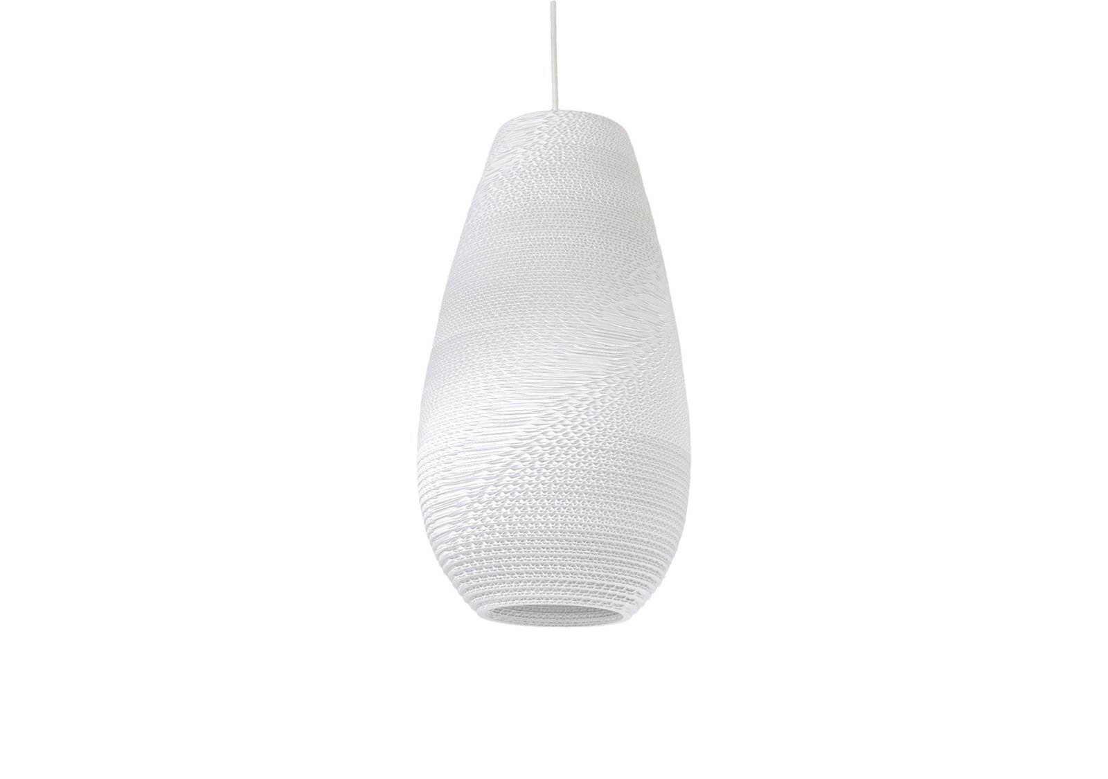 Drop 18 Scraplight White Pendant Light-31548