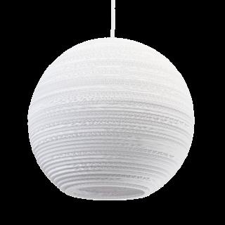 Moon 14 Scraplight White Pendant Light-0