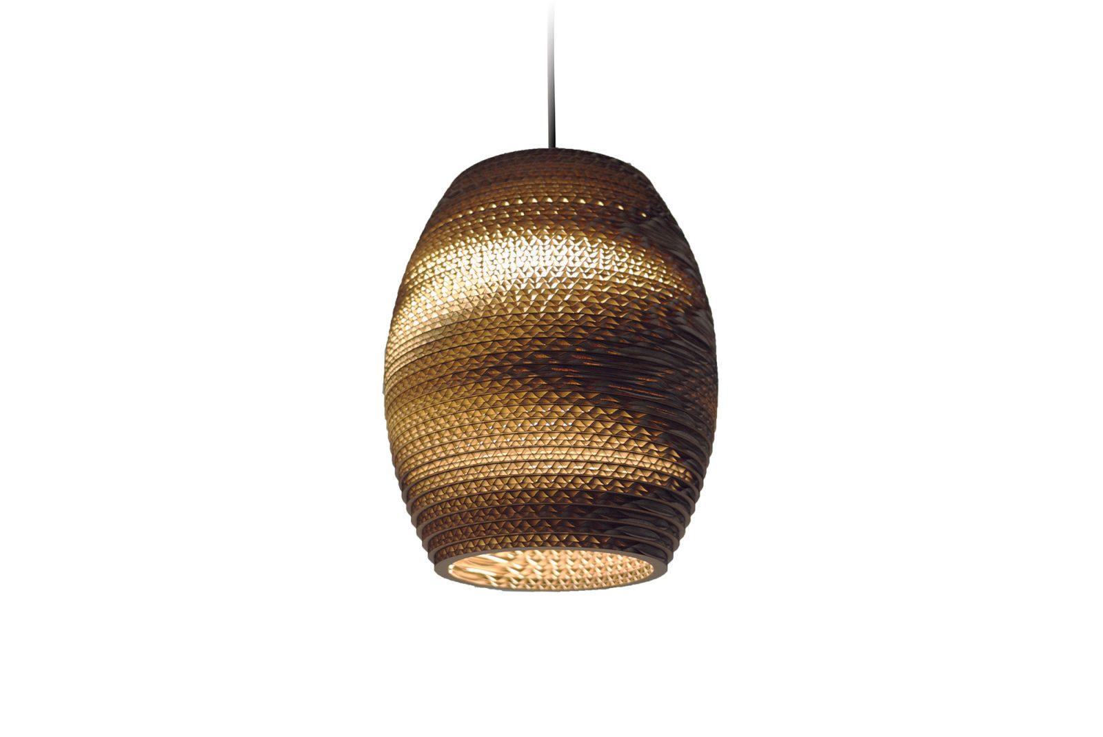 Oliv Scraplight Natural Pendant Light-31342
