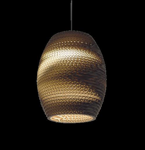 Oliv Scraplight Natural Pendant Light-0