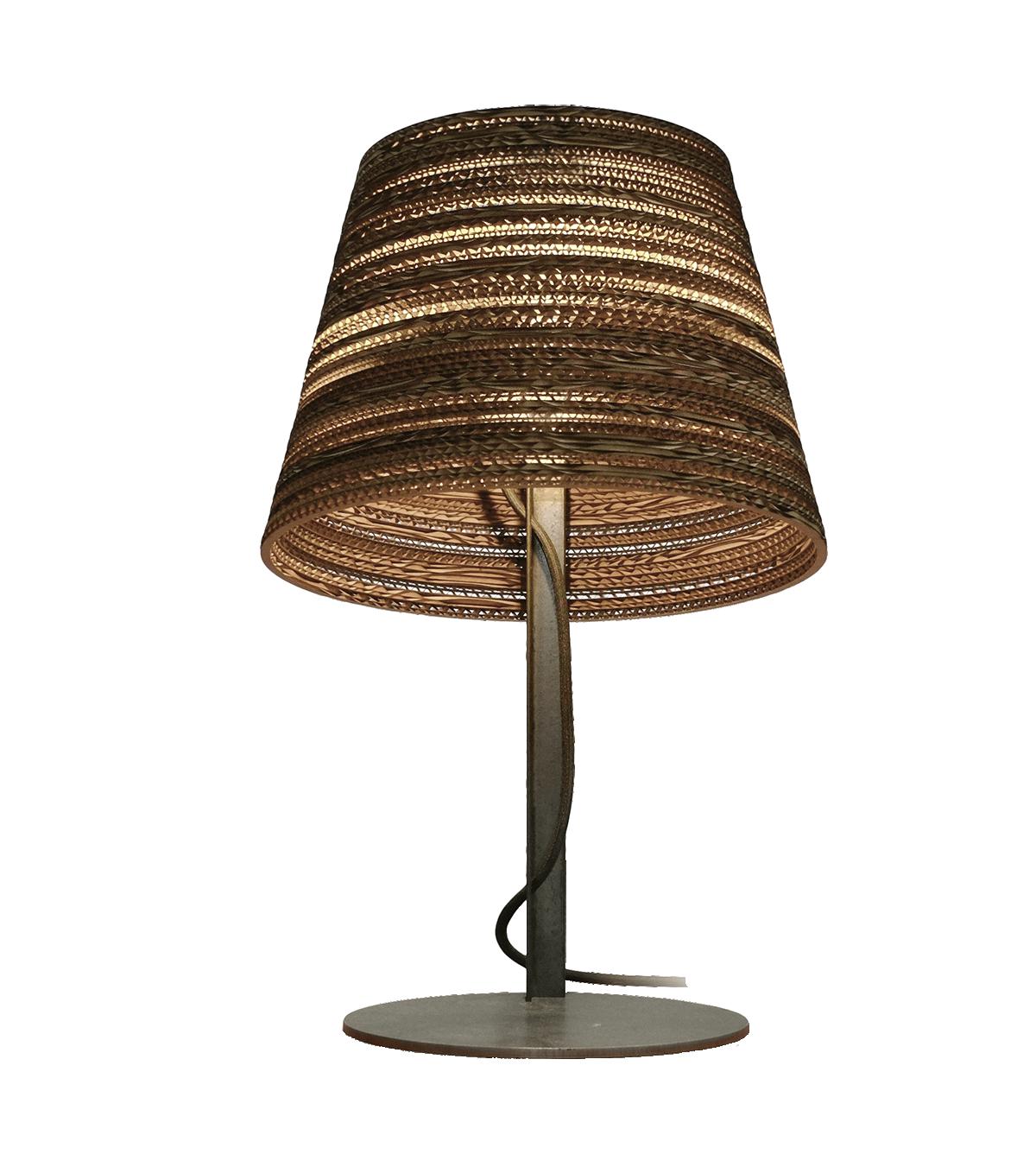 Tilt Scraplight Natural Table Lamp-0