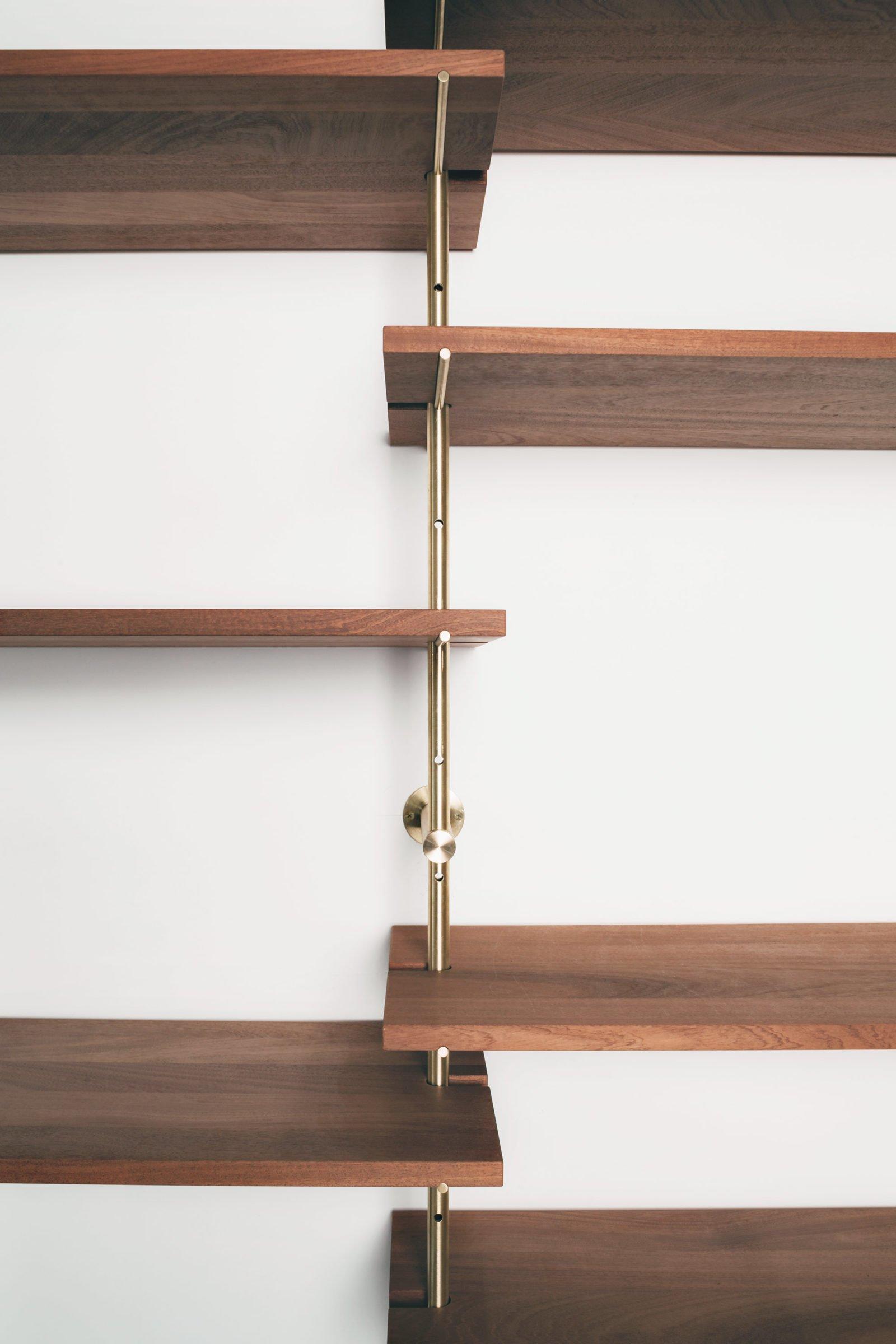 Brass Rail Shelving-31898