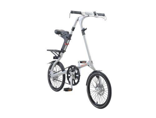 STRiDA EVO Folding Bicycle, Brushed Silver-31721