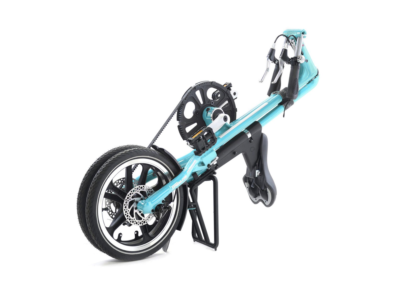 STRiDA LT Folding Bicycle, Turquoise-31737