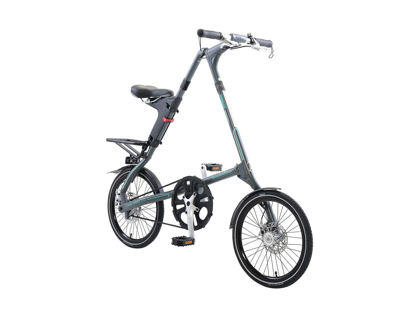 STRiDA SX Folding Bicycle, Grey-31747