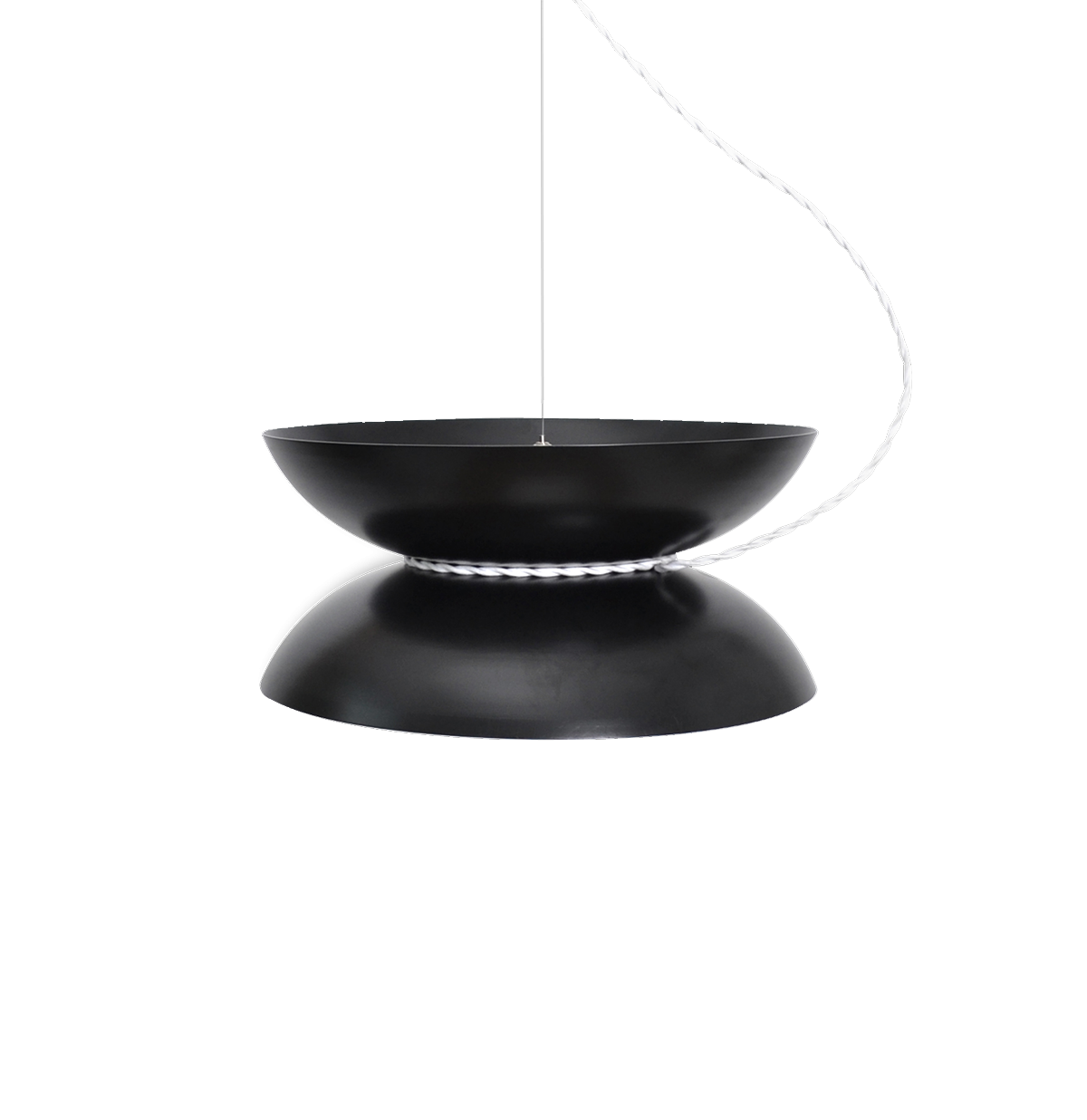 Yoyo Pendant Light, Black-0