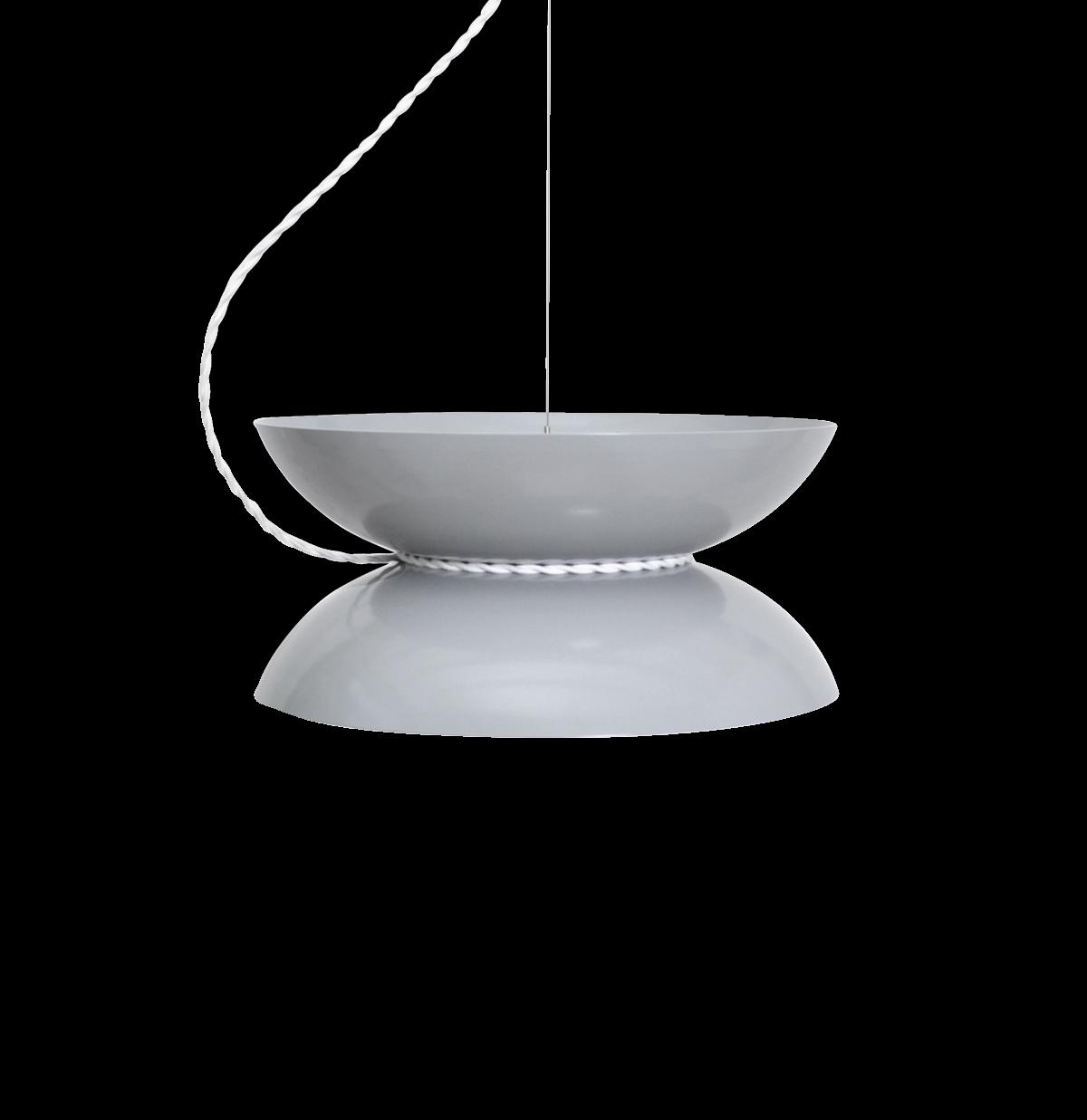 Yoyo Pendant Light, Grey-0