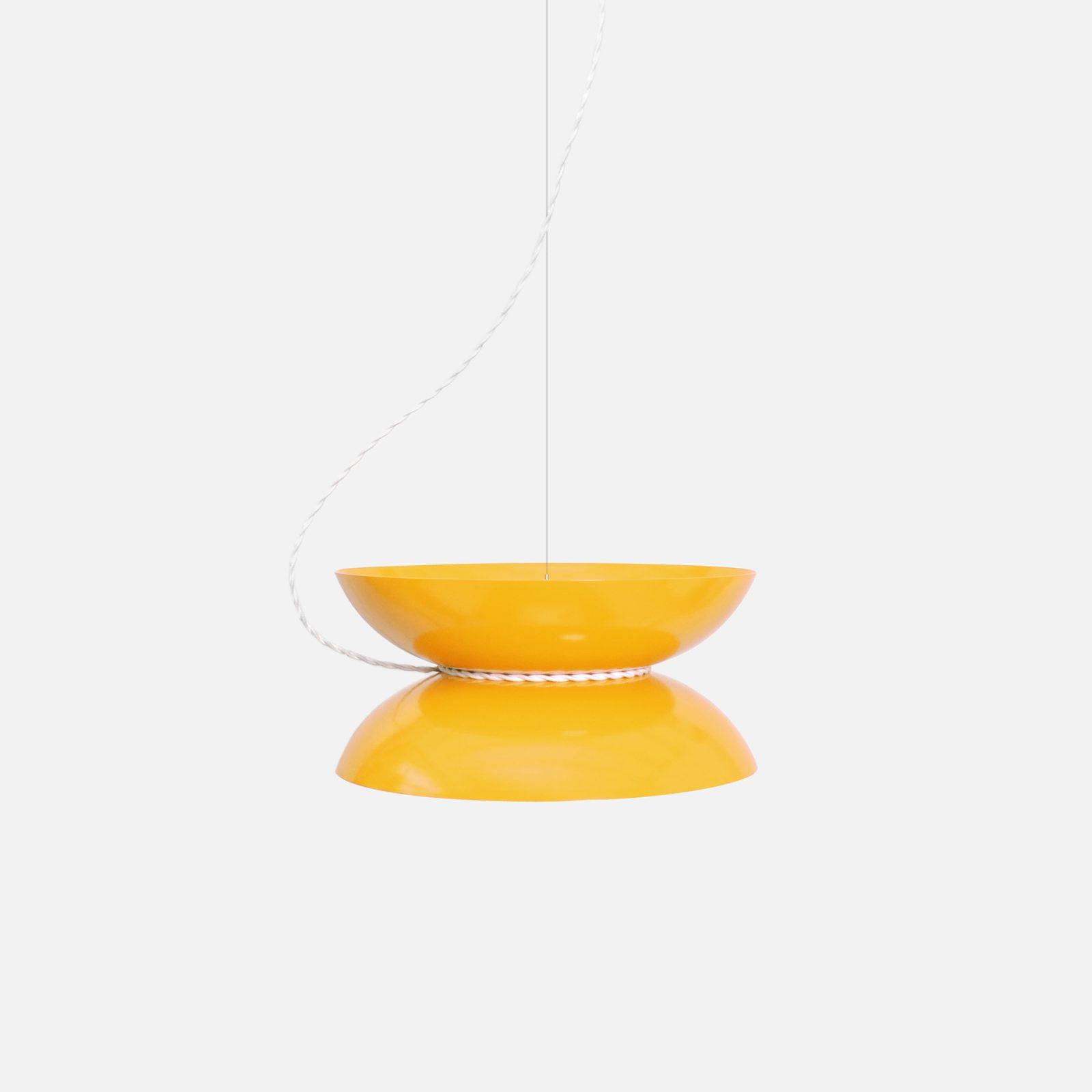 Yoyo Pendant Light, Yellow-31846