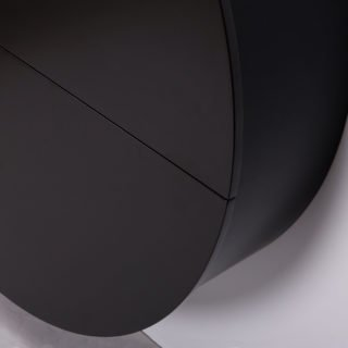 Pill, Wall Mounted Desk in Black-31990