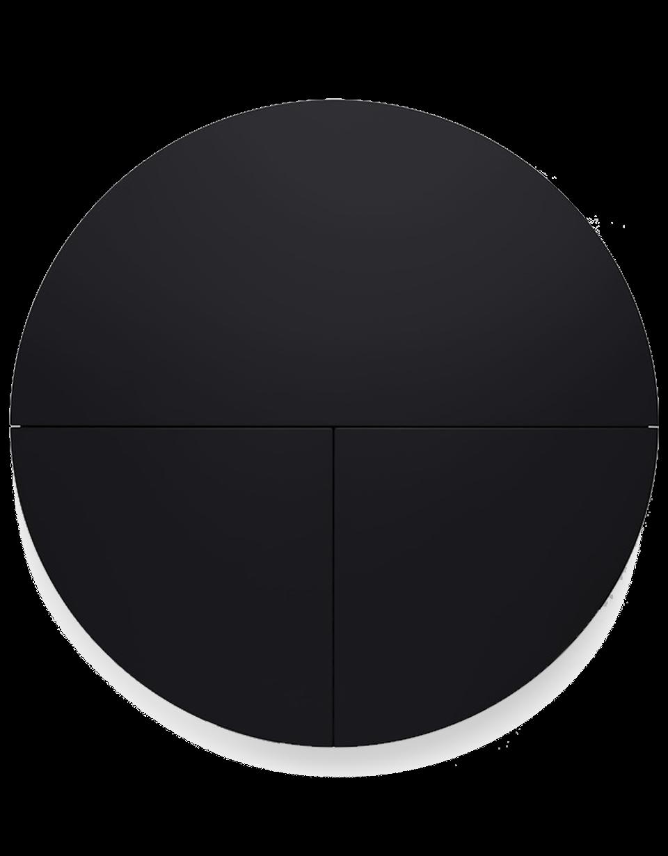Pill, Wall Mounted Desk in Black-0