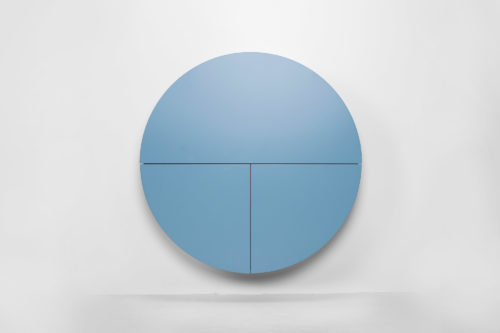 Pill, Wall Mounted Desk in Blue-31977