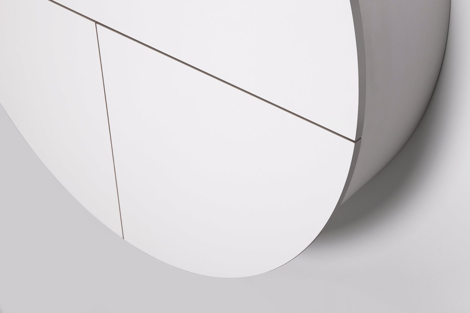 Pill, Wall Mounted Desk in White -31969