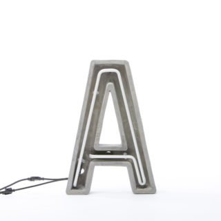 Alphacrete, Concrete Neon Light - A-32308