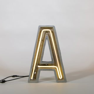 Alphacrete, Concrete Neon Light - A-32305