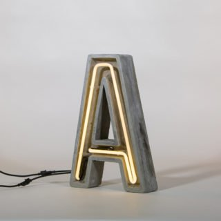 Alphacrete, Concrete Neon Light - A-32306