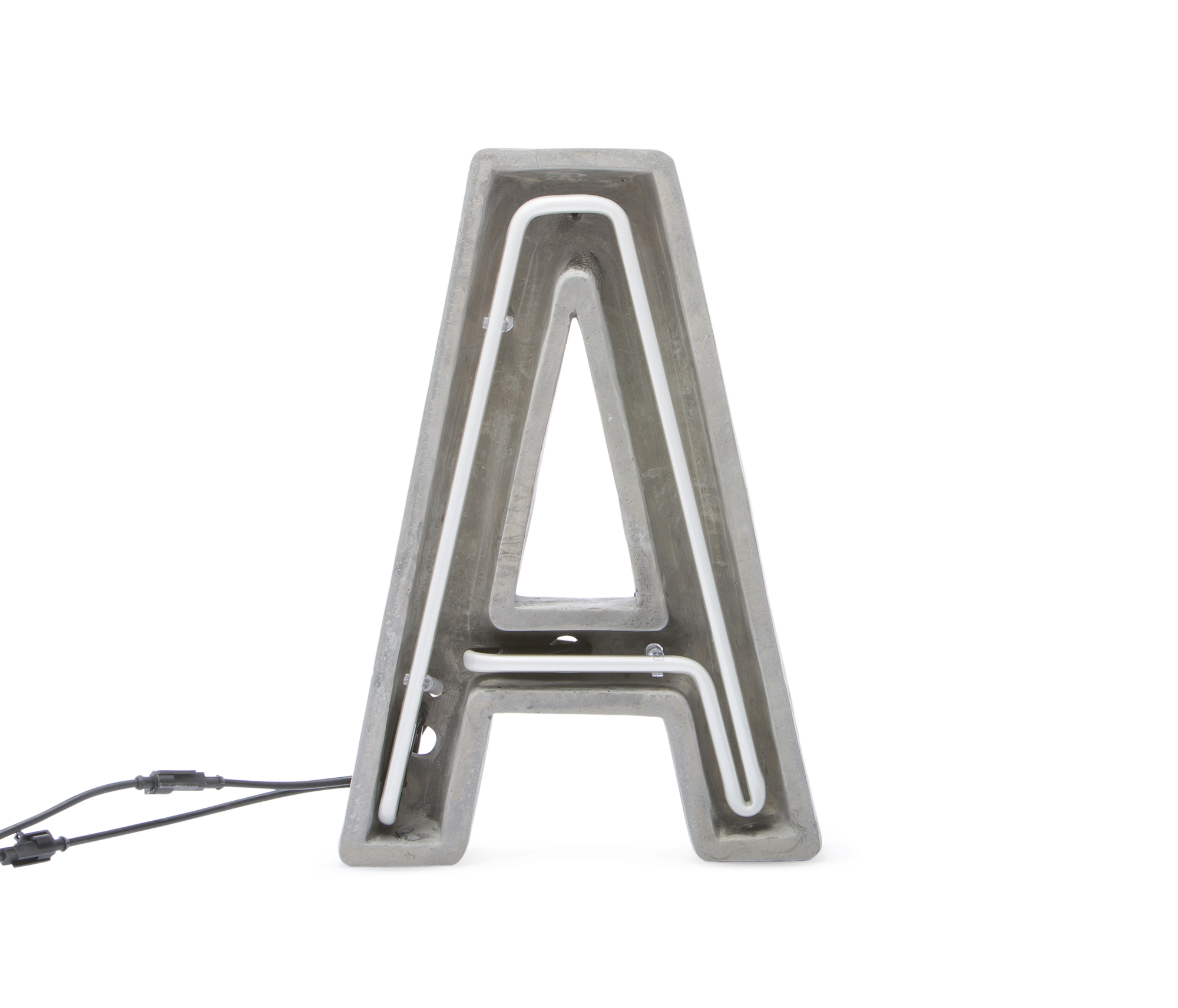 Alphacrete, Concrete Neon Light – A-0
