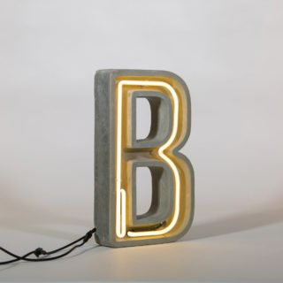 Alphacrete, Concrete Neon Light - B-32158