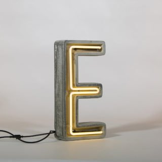 Alphacrete, Concrete Neon Light - E-32170