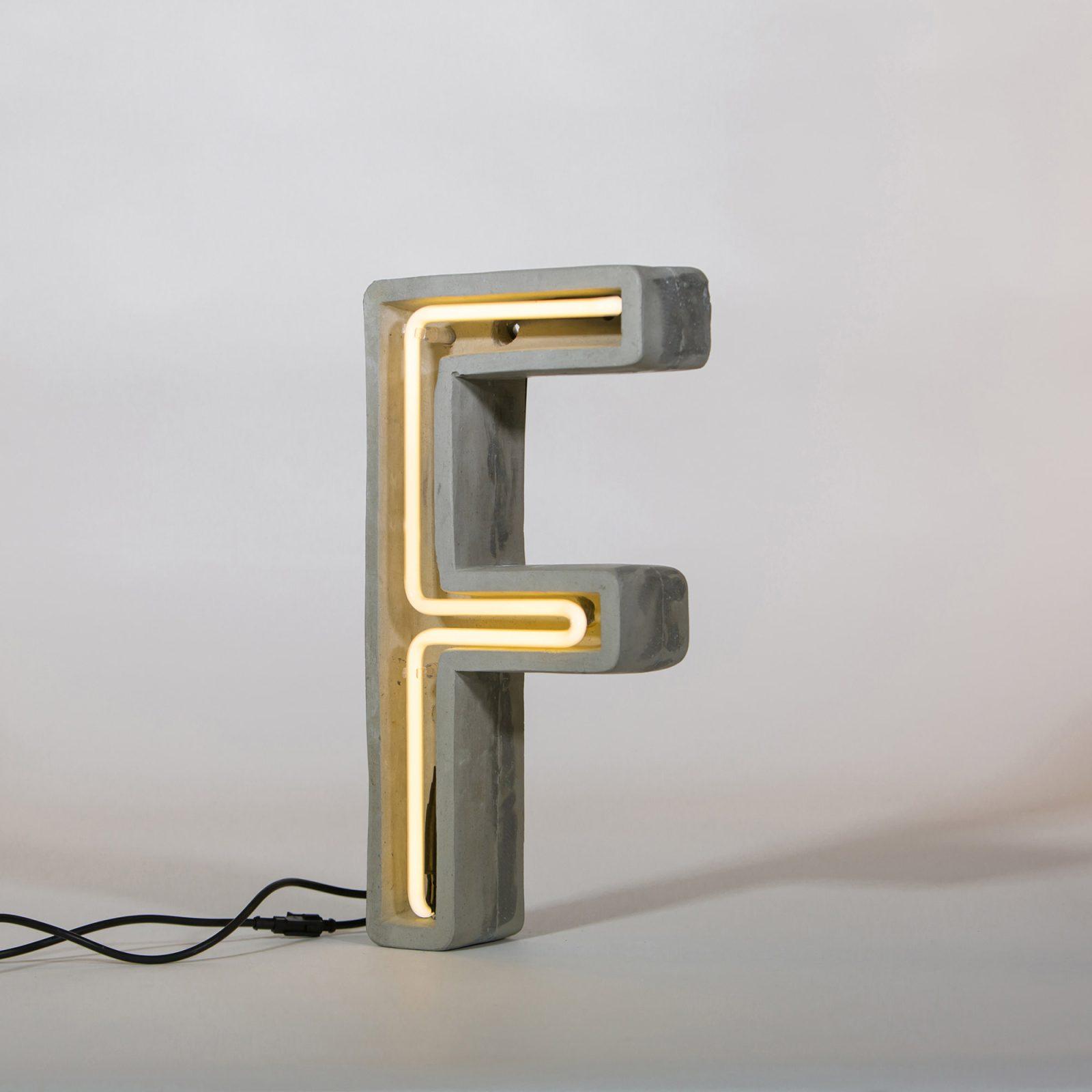 Alphacrete, Concrete Neon Light – F-32175