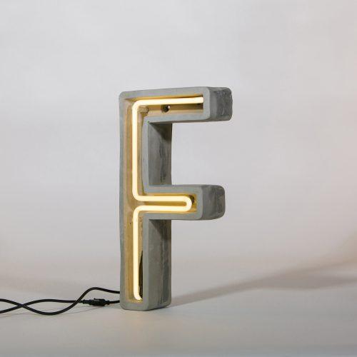Alphacrete, Concrete Neon Light - F-32175