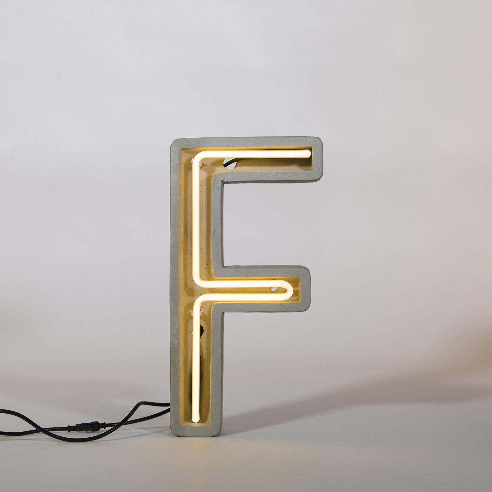 Alphacrete, Concrete Neon Light – F-32178
