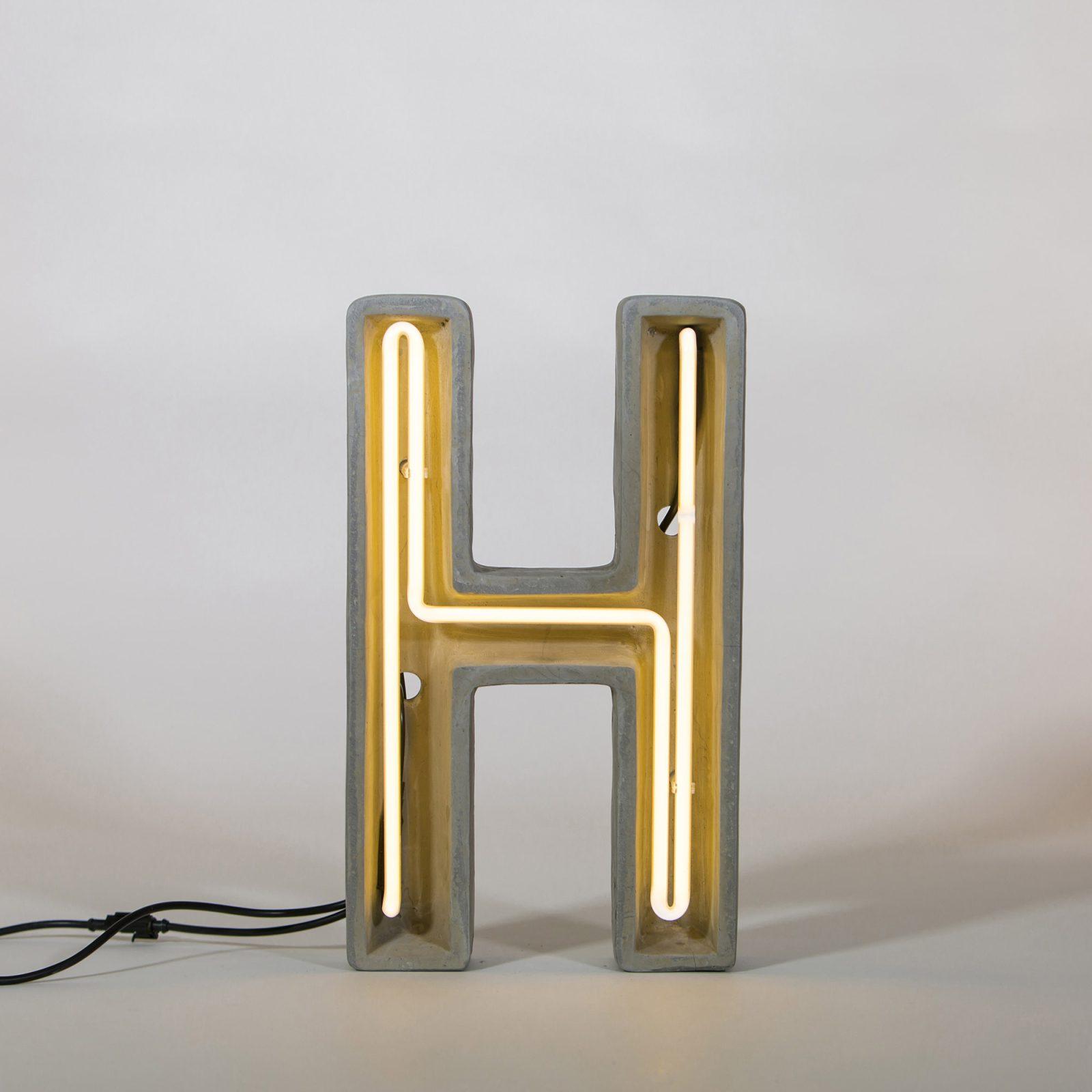 Alphacrete, Concrete Neon Light – H-32193