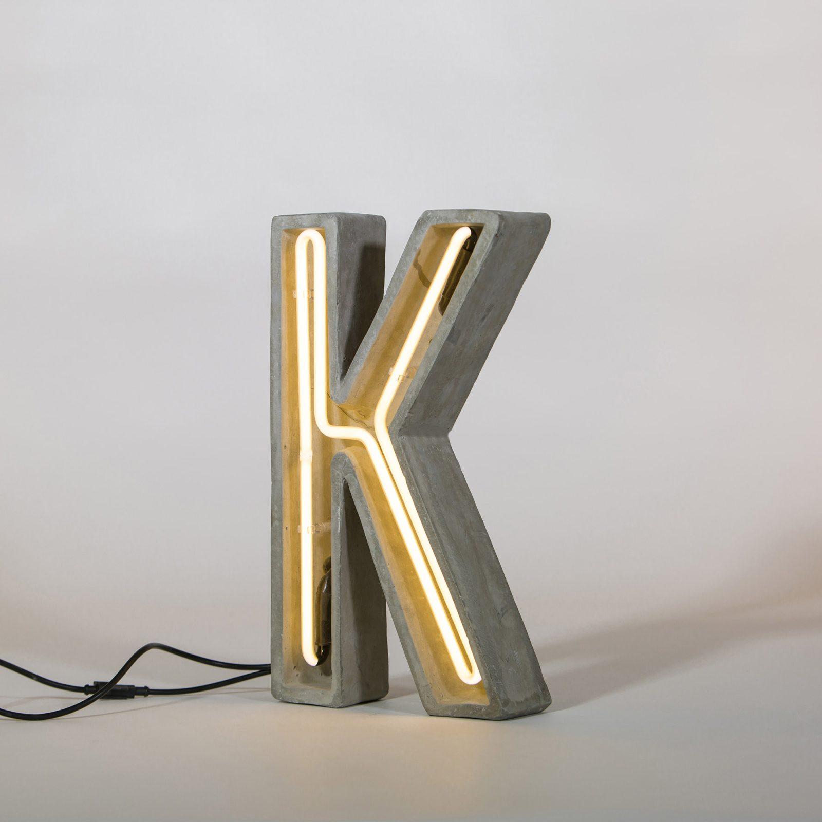 Alphacrete, Concrete Neon Light – K-32304