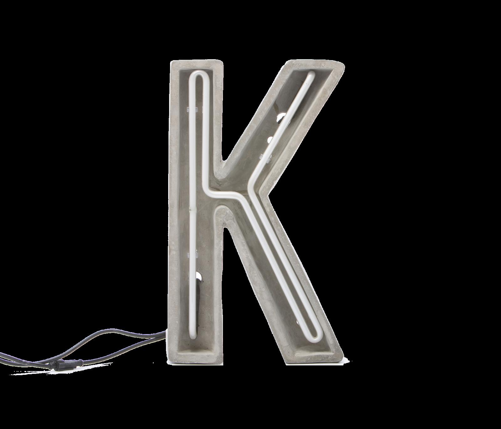 Alphacrete, Concrete Neon Light – K-0
