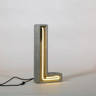 Alphacrete, Concrete Neon Light - L-32202