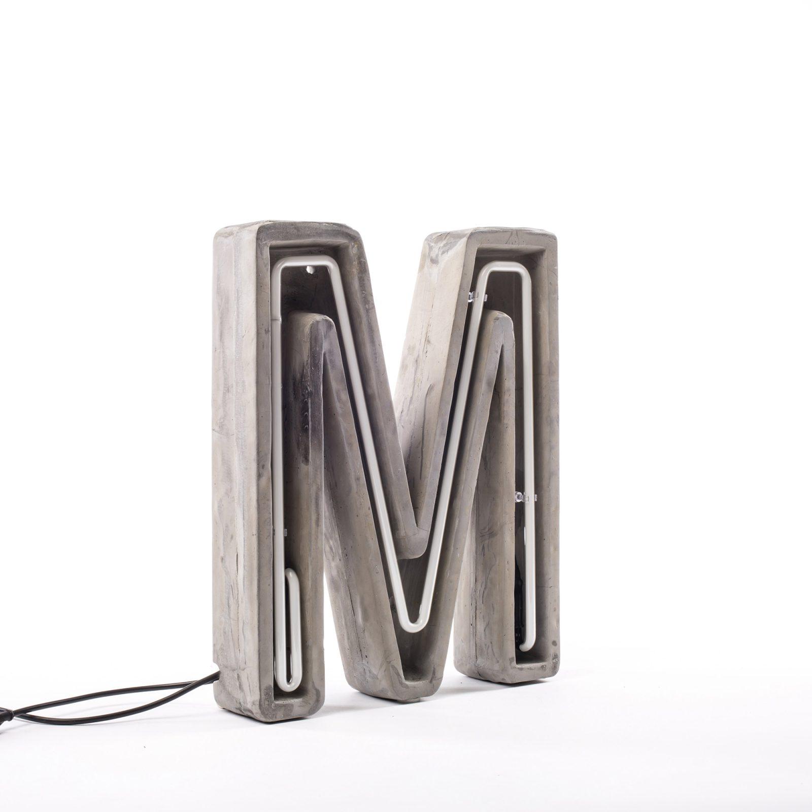 Alphacrete, Concrete Neon Light – M-32210