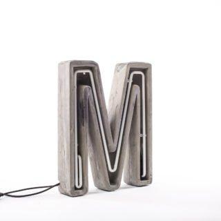 Alphacrete, Concrete Neon Light - M-32210