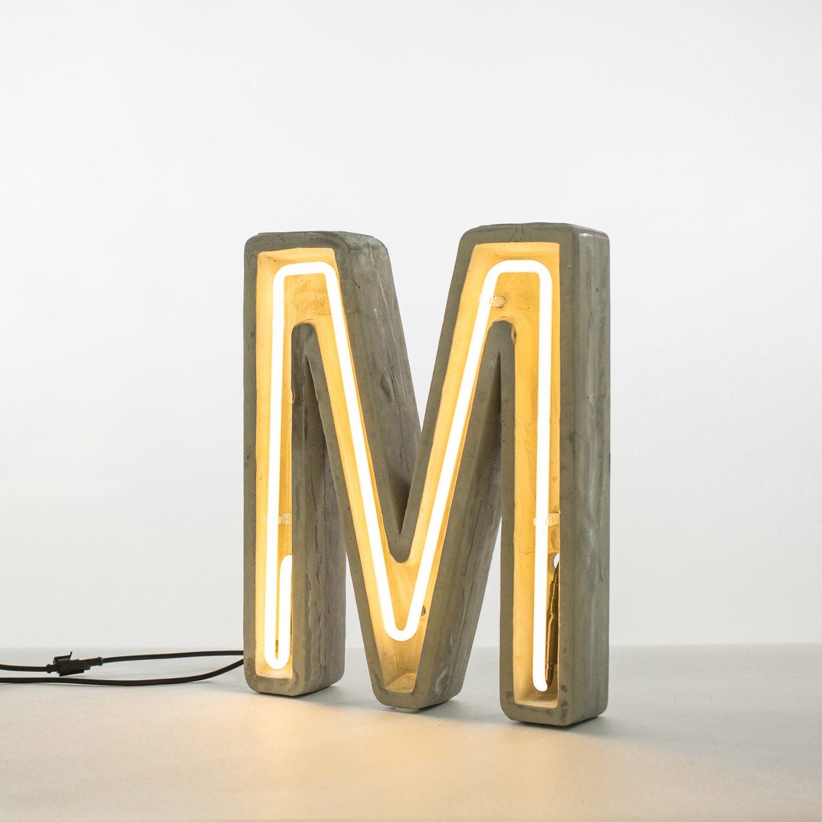 Alphacrete, Concrete Neon Light – M-32214
