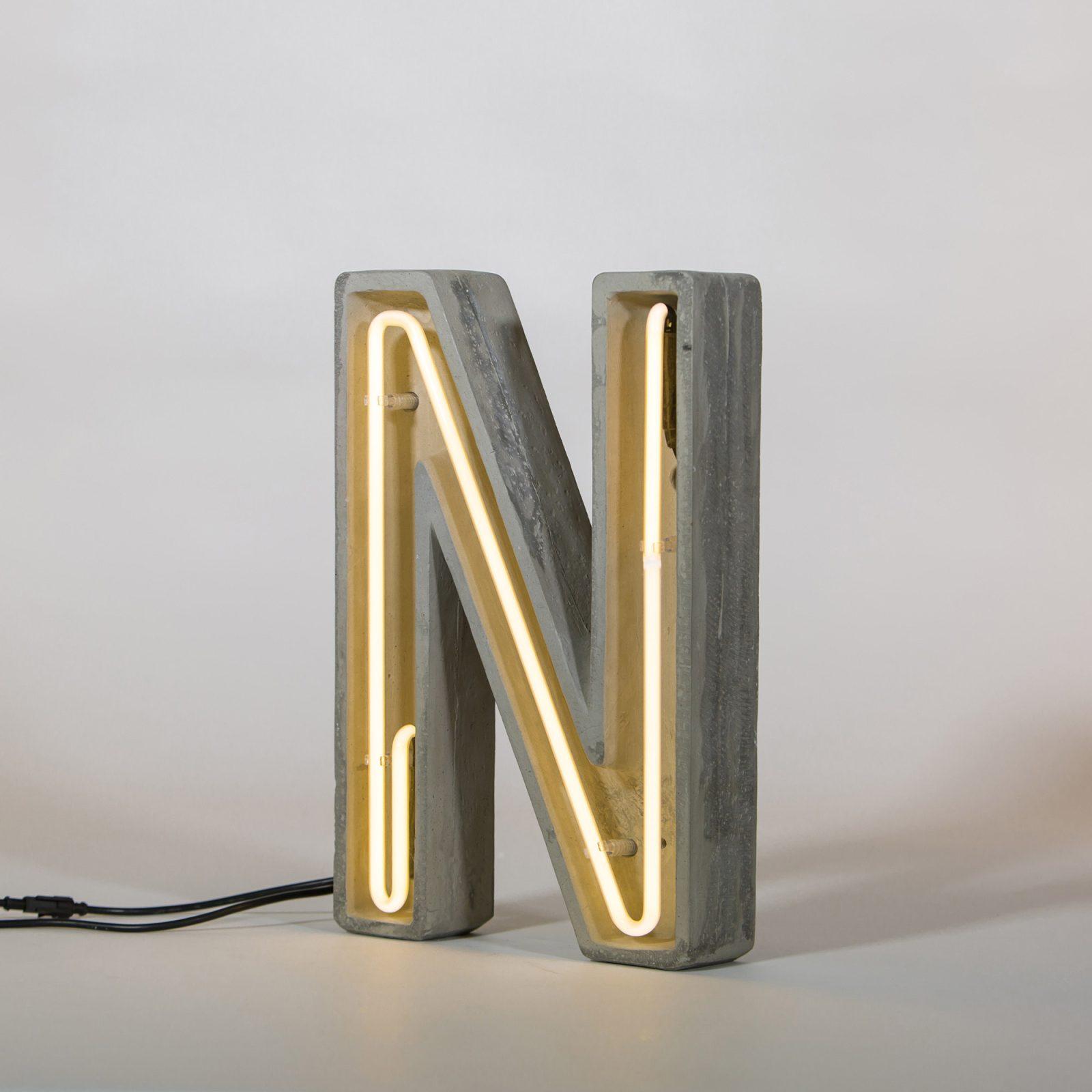 Alphacrete, Concrete Neon Light – N-32219
