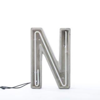 Alphacrete, Concrete Neon Light - N-32220