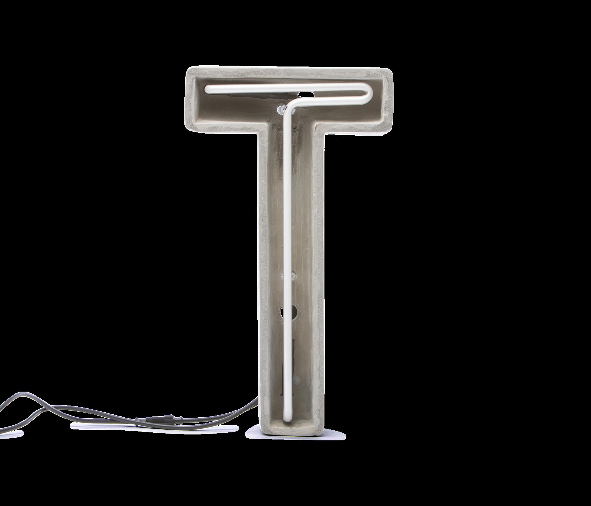 Alphacrete, Concrete Neon Light – T-0